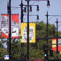 POLE MOUNTED BANNERS
