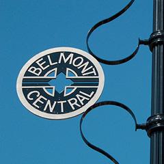 Belmont Central Medallion