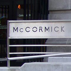 McCormick Bridgehouse & Chicago River Museum Retail Signage