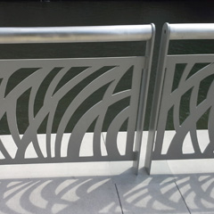 Riverside Custom Stainless Steel Railing